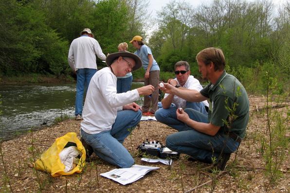 Monitoring on Creek